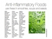 Foods that fight antiflammation